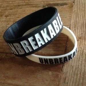 Spartan Race rubber bracelets